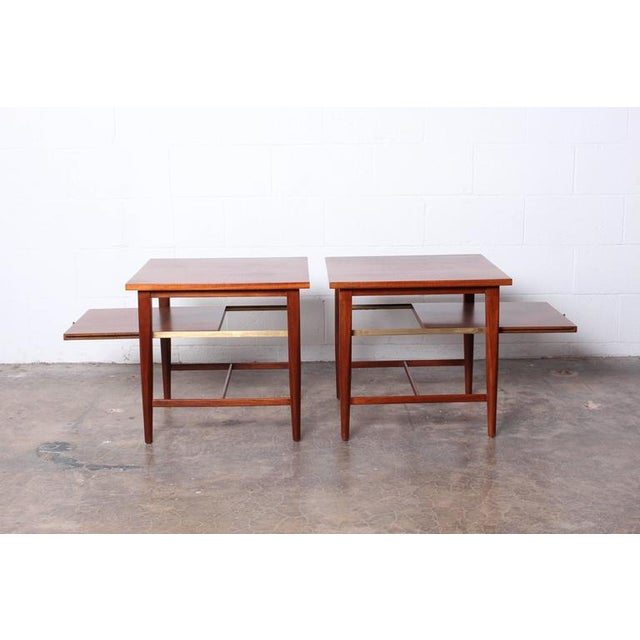 Mid-Century Modern Pair of End Tables by Paul McCobb for Calvin For Sale - Image 3 of 10