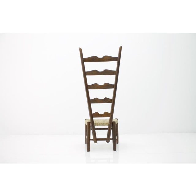 1930s Gio Ponti Fire Side Chair, Italy, 1939 For Sale - Image 5 of 11