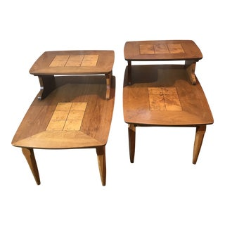 1960s Mid-Century Modern Altavista Lane Side Tables - a Pair For Sale