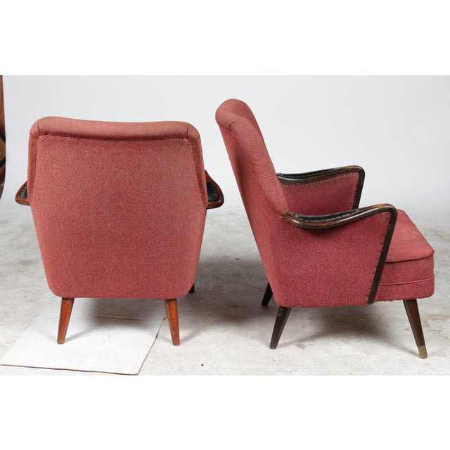 1960s Danish Modern-Style Armchairs - A Pair - Image 3 of 10