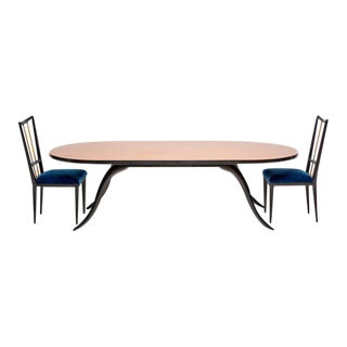Eugenio Escudero Dining Set, Circa 1950s For Sale