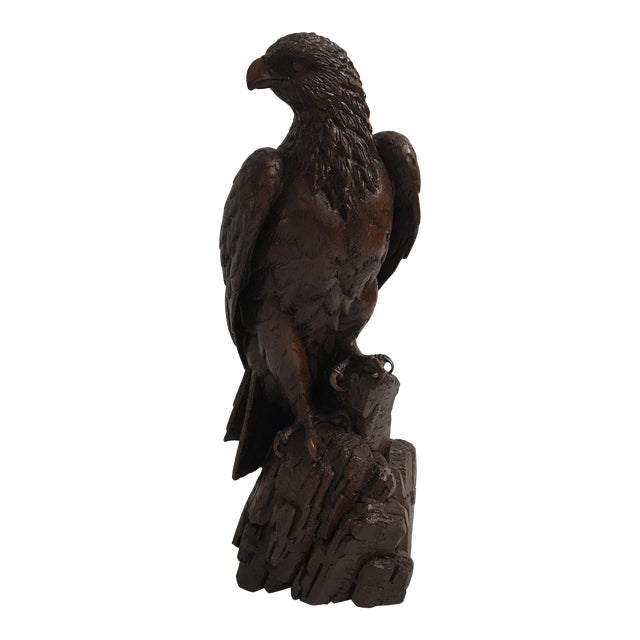 Vintage Red Mill Eagle Statue For Sale