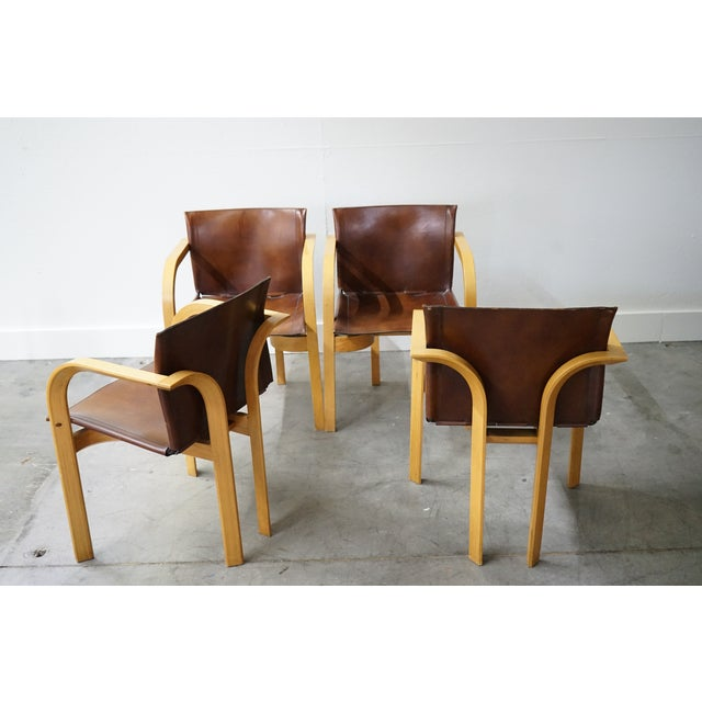 Mid-Century Arm Chairs, Sold as a Set For Sale In Nashville - Image 6 of 8