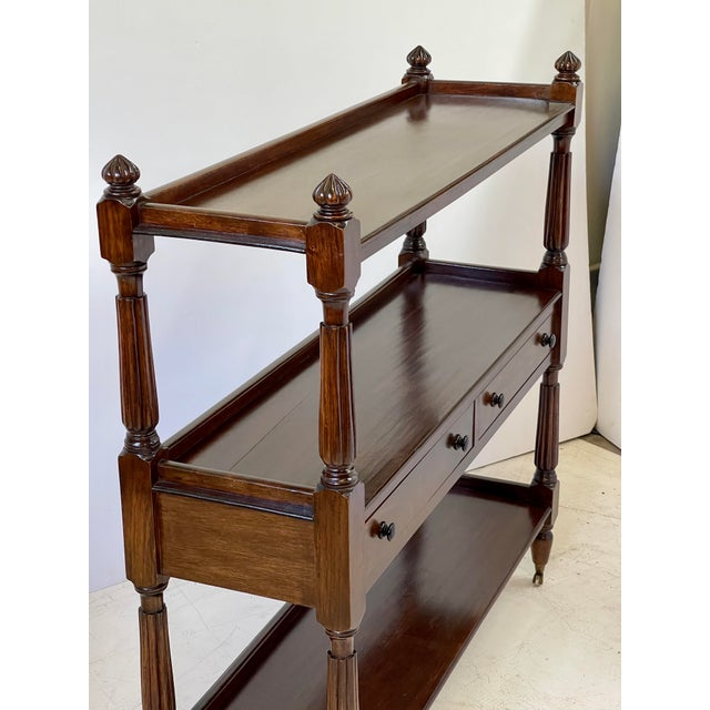 English Regency Trolley of Mahogany For Sale - Image 4 of 13