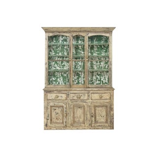 19th Century Cornish Hutch Vitrine For Sale