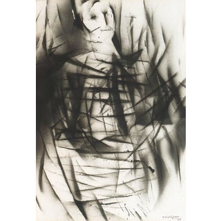 'Abstract Figure' by G. Distefano, 1965; Cubist Figural For Sale