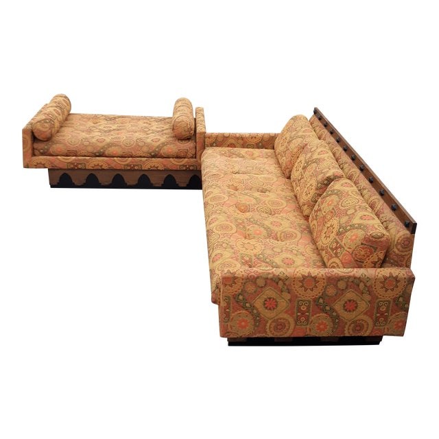 Vintage Adrian Pearsall and Craft & Associates Sectional For Sale