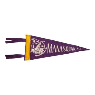 Manasquan NJ Felt Flag