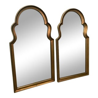Decorative Wall Hanging Mirrors Set of 2 For Sale
