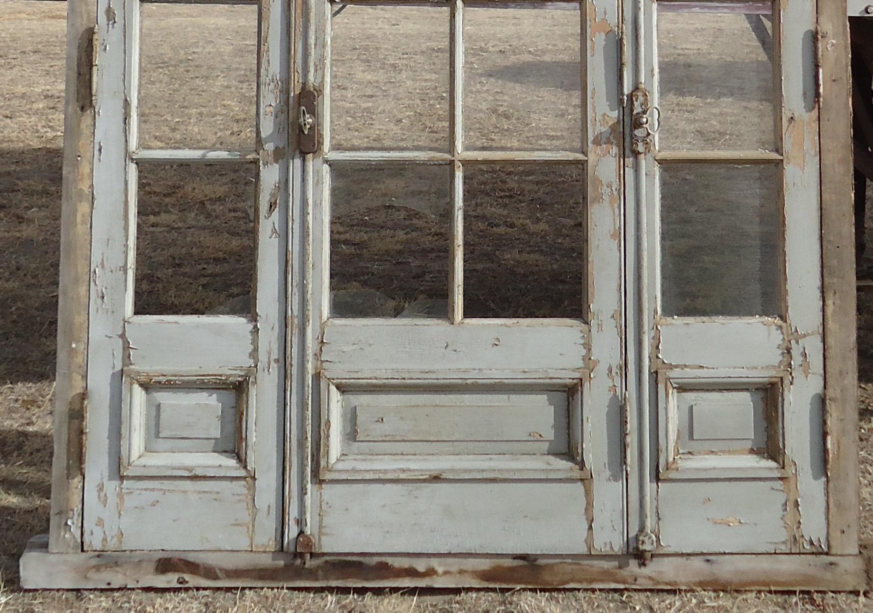 Antique French Arched Transom Doors - Image 6 of 11  sc 1 st  Chairish & Antique French Arched Transom Doors | Chairish