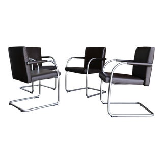Leather Armchairs by Antonio Citterio & Glen Oliver Low for Vitra For Sale