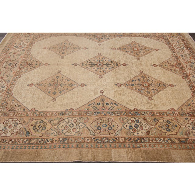 This beautiful hand-knotted Kurdish rug has a great design with magnificent detailing. This piece will make your floor...