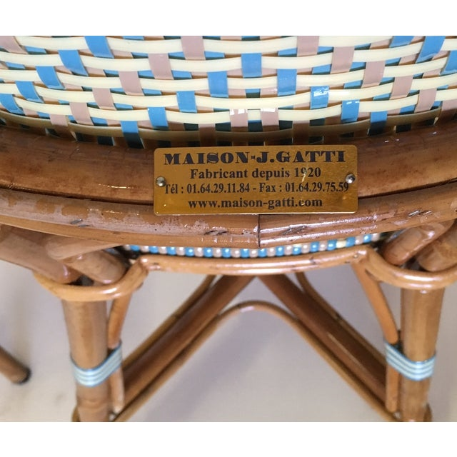 Authentic French Maison Gatti Bistro Chairs - Pair - Image 3 of 7