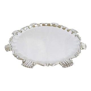 Art Déco Silver Platter For Sale