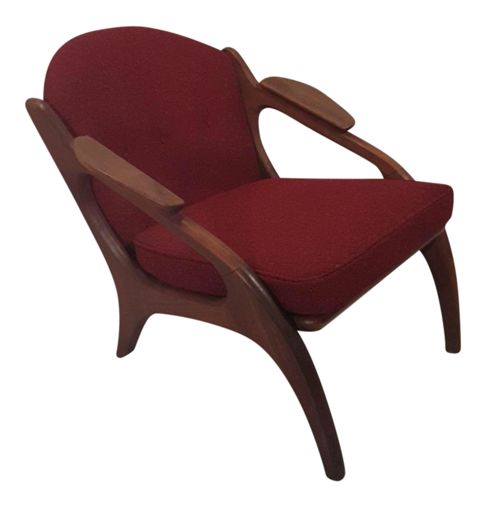Adrian Pearsall Craft Paddle Lounge Chair   Image 1 Of 4