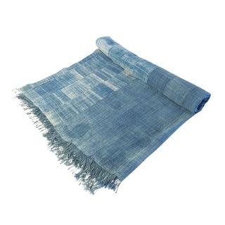Vintage African Indigo Textile 2 For Sale