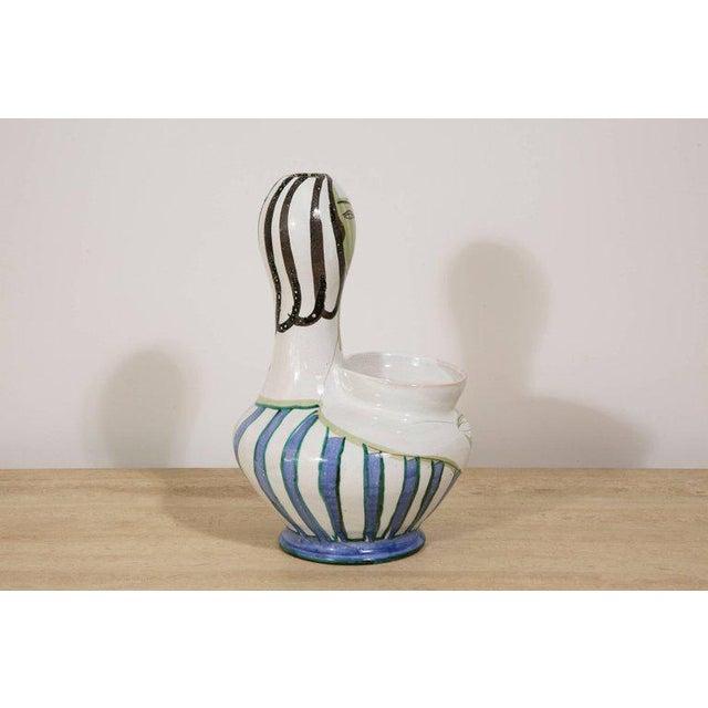 Grand Chêne Ceramic Vase, Vallauris, circa 1950 For Sale - Image 4 of 8