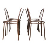 Image of Mallet Stevens Chairs - Set of 6 For Sale