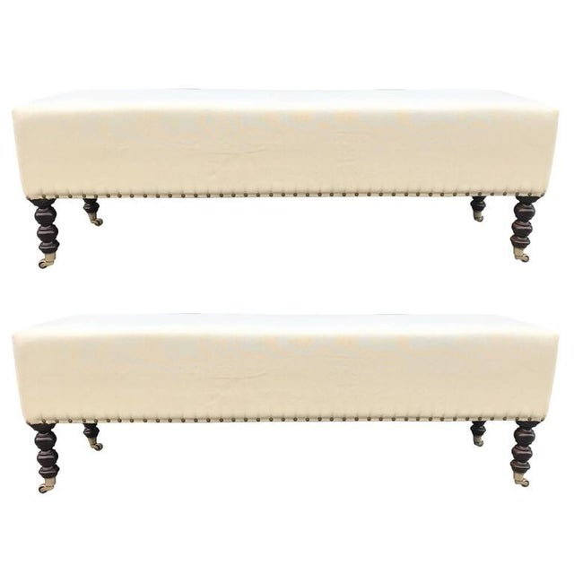 Two George Smith Benches For Sale In New York - Image 6 of 6