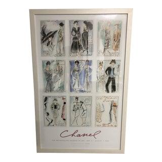 Framed 2005 Metropolitan Museum of Art Chanel Exhibit Poster For Sale