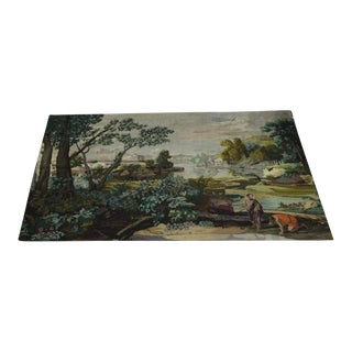 Early 19th Century Antique European Handmade Tapestry For Sale