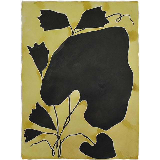 Goldenrod Painting by Kate Roebuck For Sale