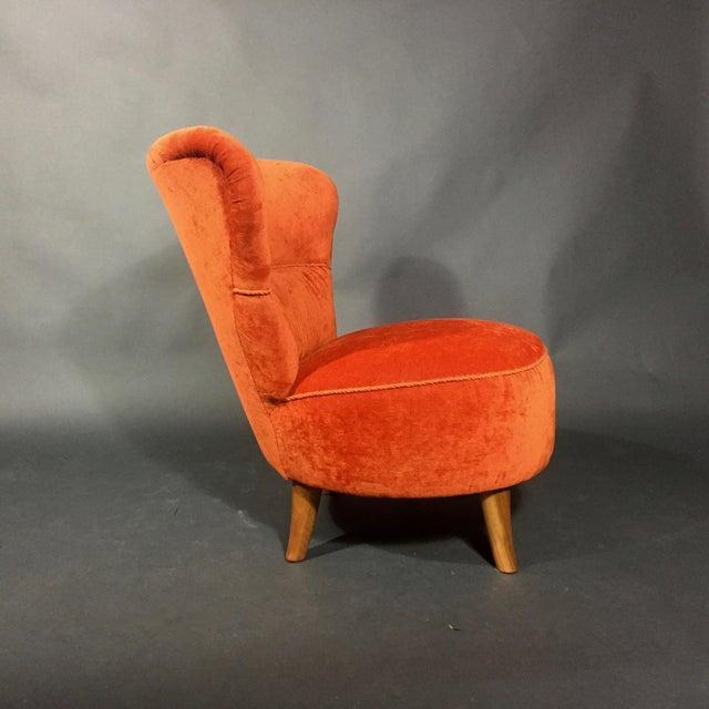 1950s Easy Chair by Oskar Bernströms Möbelfabrik, Sweden 1950s For Sale - Image 5 of 10