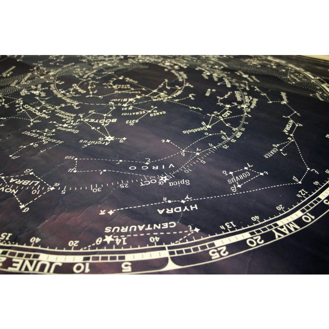 Rand McNally & Co. Vintage Rand McNally Star Chart for the Northern Skies For Sale - Image 4 of 11