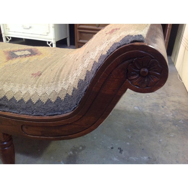 Antique Kilim Daybed - Image 5 of 6