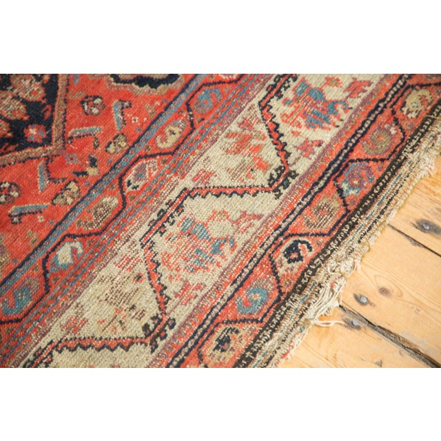"Islamic Antique Hamadan Rug - 4' x 6'3"" For Sale - Image 3 of 11"