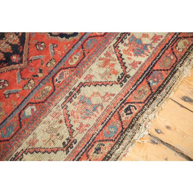 "Antique Hamadan Rug - 4' x 6'3"" - Image 3 of 11"