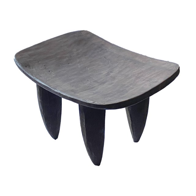 Abstract Vintage African Senufo Stool For Sale - Image 3 of 8