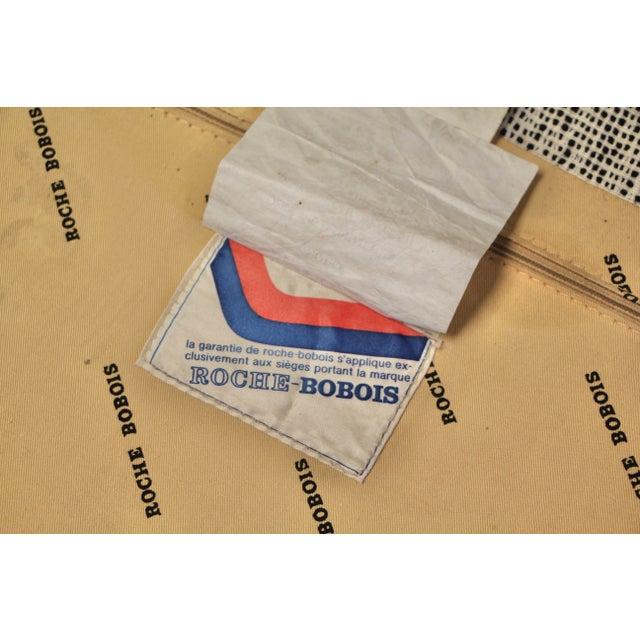 1970s Vintage Roche Bobois Mah Jong Ottomans - a Pair For Sale - Image 12 of 13