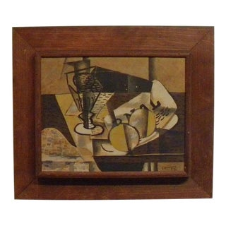 1960s Vintage Mid Century Modern Abstract by Georges Braque For Sale