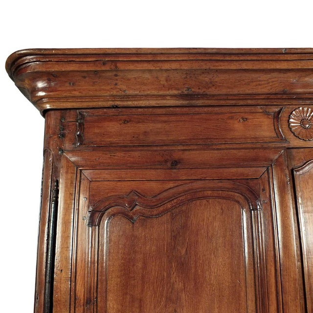 French Traditoinal Louis XV Armoire - Image 6 of 11