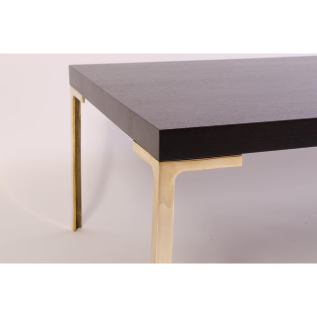 Not Yet Made - Made To Order Astor Cocktail Table in Ebonized Walnut by Montage For Sale - Image 5 of 7
