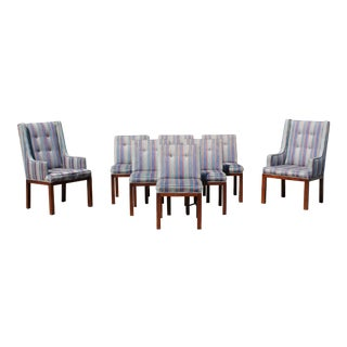 1960s Mid-Century Modern Dale Ford for John Widdicomb Dining Chairs - Set of 8