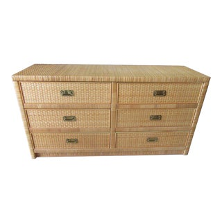 Woven Dixie Island Style Dresser