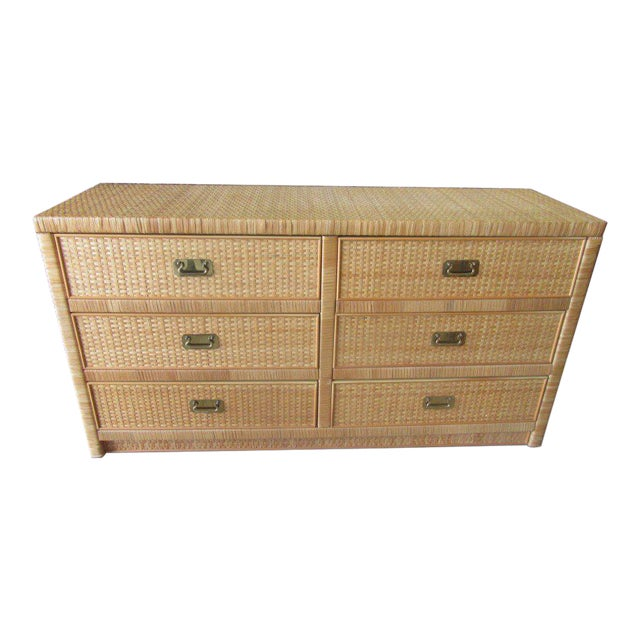Woven Dixie Island Style Dresser - Image 1 of 9