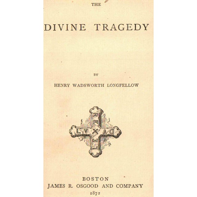 The Divine Tragedy by Henry Wadsworth Longfellow - Image 2 of 3