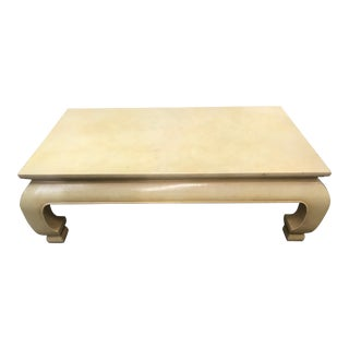 1950s Ming John Widdacomb Chow Leg Coffee Table For Sale