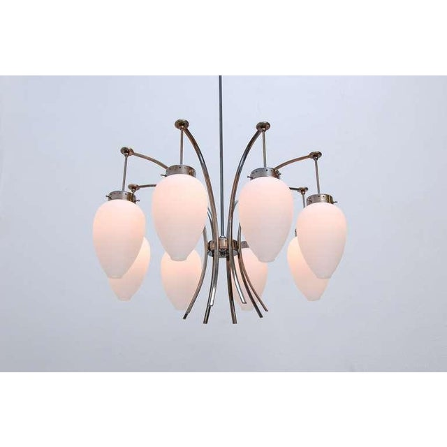 Large Italian Chandelier For Sale - Image 4 of 11