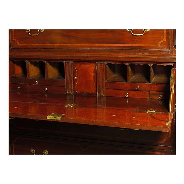 19th C. George III Chest on Chest For Sale - Image 5 of 6