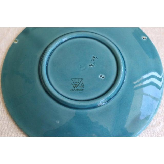 Art Nouveau Majolica Plates - Set of 4 For Sale - Image 4 of 5