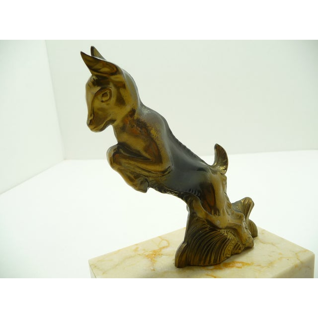 Baby Goats French Art Deco Bookends - A Pair - Image 5 of 7