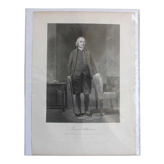Sam Adams, Print by Chappel For Sale