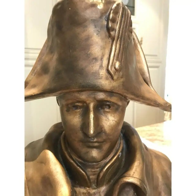Traditional 19th Century Napoleon Bonaparte Bronze Bust For Sale - Image 3 of 6