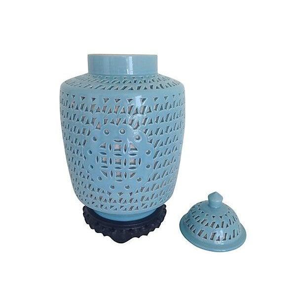 1950s Blanc De Chine Jar Lamp - Image 9 of 10