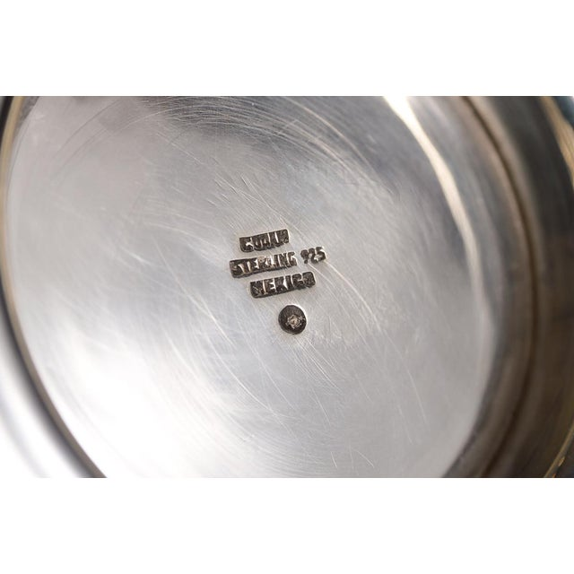 Sterling 925 Modernist Designer Candlesticks - a Pair For Sale - Image 9 of 10