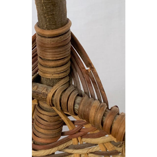 Vintage Buttocks Gathering Basket For Sale - Image 12 of 13